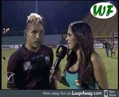 Soccer interview