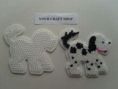 Hama bead dog pegboard pattern