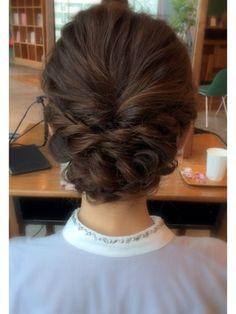 【drive for garden一番合戦彩】. Mom Hairstyles, Party Hairstyles, Headband Hairstyles, Wedding Hairstyles, Beach Hair Dos, Bridesmaid Hair Updo, Hair Arrange, Hair Setting, Festival Hair
