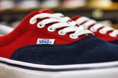 Vans Era Pro	VN-0VFBJ6K (50TH) '76 Navy/Red  HKD 650
