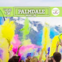 Color Vibe is coming to Palmdale, CA on January 23rd. Check out the event page for an exclusive coupon code. Don't forget to RSVP! https://www.facebook.com/events/701849609949345/