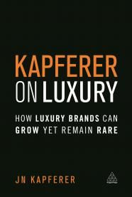 Kapferer on Luxury addresses the No 1 challenge of all major luxury brands today: How can these brands pursue their growth yet remain luxury? How do you reconcile growth and rarity?  Special offer: Save 20% on Kapferer on Luxury with discount code MKTKLE