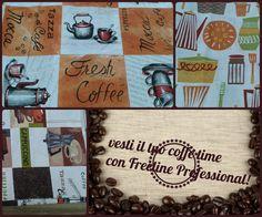 Pausa caffè stilosa!  #coffe #bar #pasticcerie #style #moka #apron #grembiuli #fantasia #panetterie