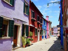 Burano, ostrov u Benátek (Venezia)