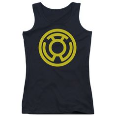 """Checkout our #LicensedGear products FREE SHIPPING + 10% OFF Coupon Code """"Official"""" Green Lantern / Yellow Emblem - Juniors Tank Top - Green Lantern / Yellow Emblem - Juniors Tank Top - Price: $29.99. Buy now at https://officiallylicensedgear.com/green-lantern-yellow-emblem-juniors-tank-top"""