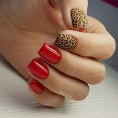 Want to know how to do gel nails at home? Learn the fundamentals with our DIY tutorial that will guide you step by step to professional salon quality nails. May Nails, Love Nails, Pretty Nails, Hair And Nails, Leopard Print Nails, Nagellack Trends, Short Nail Designs, Square Nails, Short Nails