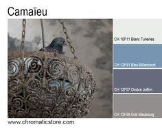 Retrouvez toute l'offre couleur de notre nouveau nuancier CHROMATIC FACADE sur www.chromaticstore.com #couleur #bleu