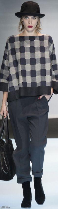 Giorgio Armani from Menswear Fall 2016