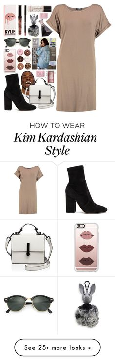 """""""Untitled #54"""" by bahbepbep on Polyvore featuring Kendall + Kylie, Boohoo, Valentino, Ray-Ban, Casetify, Major Moonshine and Dot & Bo"""