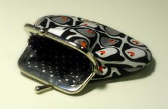 A small pouch with penguines