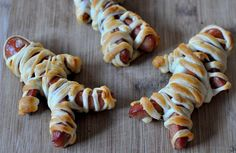 Halloween Hotdog Mummies - Lekker en simpel