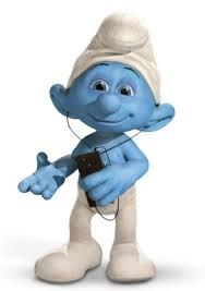 Smurfs are cute blue cartoon characters that will Appel to my target market