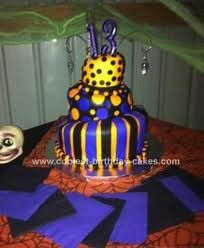 halloween birthday cakes - Google Search