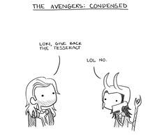 the avengers: condensed