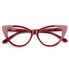 Lisa Cat eye Spring Hinge Acetate ($21) ❤ liked on Polyvore featuring accessories, eyewear, cat eye glasses, cat-eye glasses and acetate glasses