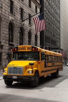 Chicago School Bus by Maxim El Masri on 500px