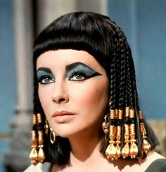 Elizabeth Taylor Cleopatra (1963) by Joseph L. Mankiewicz Makeup: Albert De Rossi