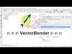 QGIS: Plugin Vector Bender