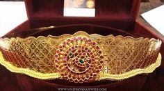 Gold Jewelry In Nepal Kids Gold Jewellery, Gold Wedding Jewelry, Gold Jewellery Design, Gold Jewelry, India Jewelry, South Indian Jewellery, Jewelry Shop, Jewelry Making, Vaddanam Designs