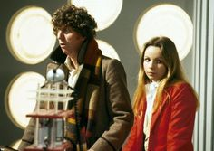 The 4th Doctor (Tom Baker) and Romana (Lalla Ward) - 1979 to 1981.