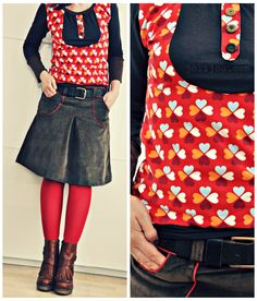 Amy loves Hamburg...an I love this skirt und this tee ♥