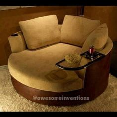 Loveseat so me and my future husband can always sit together.