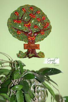Prezent dla babci i dziadka na rocznicę ślubu ręcznie wykonane drzewo genealogiczne www.ogrodybasi.pl #prezenty #na #25 #30 #40 #50 #60 #rocznica #slub #jubileusz #gody #urodziny