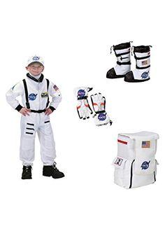 #AstronautSuit Boys Astronaut Costume, Astronaut Suit, Big Boys, Nasa, Gloves, Backpacks, Costumes, Suits, Sneakers