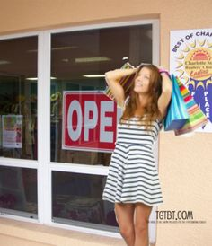 Our Auntie Kate blog has a pretty good idea for involving your clientele in your consignment, resale or thrift shop. Read about Doin' the Happy Dance in front of my Favorite Consignment Shop!
