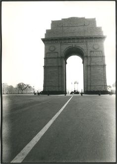The striking India Gate is the national monument of India. Located in the heart of New Delhi.