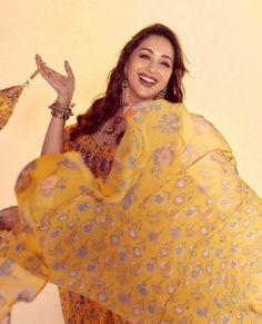 Madhuri Dixit, Bollywood, Ruffle Blouse, Actresses, Beauty, Tops, Women, Fashion, Female Actresses