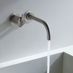 Vola 111 Wall Mixer and Spout
