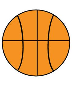 Free Basketball Clipart to use for party decor, craft projects, and on websites!