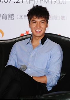 130720 Lee Min Ho Global Tour in Taiwan press conference