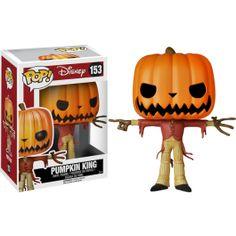 Nightmare Before Christmas - Jack the Pumpkin King Pop! Vinyl Figure