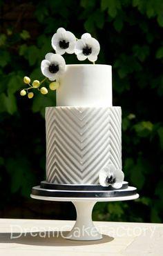 White, Silver Cake