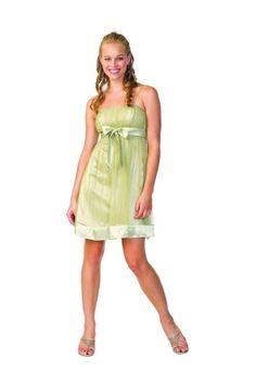 Sage Corset Short/Mini Tulle Homecoming Dress HD167E