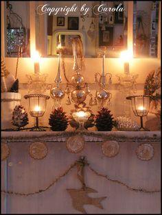 Boxwood Cottage: *~*~ A white vintage Christmas *~*~
