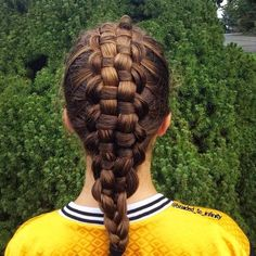 Zipper braid updo! Images and video tutorials!