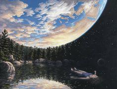"""Phenomenon of Floating"" Rob Gonsalves"