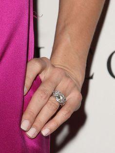 Angie Harmon's rings