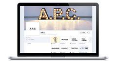A.P.C. #Facebook #apps #social