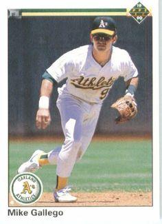 1990 Upper Deck # 230 Mike Gallego Oakland Athletics Baseball Card by Upper Deck. $2.88. 1990 Upper Deck # 230 Mike Gallego Oakland Athletics Baseball Card