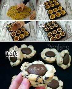 Cookies Tarifi nasıl yapılır? 2.441 kişinin defterindeki Cookies Tarifi'nin resimli anlatımı ve deneyenlerin fotoğrafları burada. Yazar: Ayşe Gül Altaş