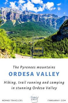 Ordesa and Monte Perdido National Park in Central Pyrenees is a paradise for nature-lovers and hikers. In this post we introduce the area and lovely San Anton camping site right next to the national park. Travel Around The World, Around The Worlds, Camping Site, Running Inspiration, Pyrenees, Trail Running, Campsite, Anton, Travel Destinations