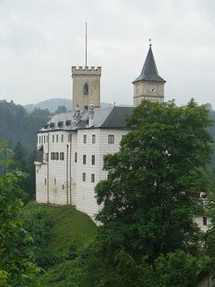 Rožmberk Castle, Czech Republic