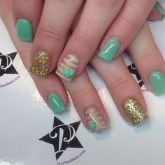 I like this without the gold nail