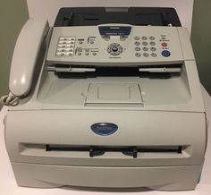 Brother IntelliFax-2820 Laser Copier, Fax, Printer Bundled w/Toner cartridge2011 #Brother