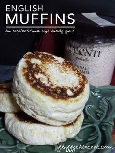 Mile High Keto English Muffin from Fluffy Chix Cook, is low carb and delish!