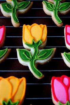Tulip Cookies | Flickr - Photo Sharing!